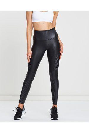 Spanx Faux Leather Moto Leggings - Pants (Very ) Faux Leather Moto Leggings