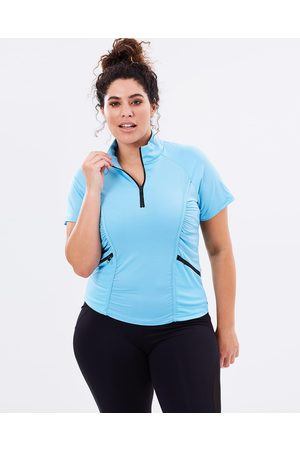 Curvy Chic Sports Women Tops - Stay Cool Short Sleeve Top - T-Shirts & Singlets Stay Cool Short Sleeve Top