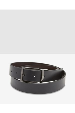 Oxford Carson Leather Reversible Belt - Belts ( / ) Carson Leather Reversible Belt