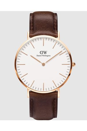Daniel Wellington Men Watches - Classic Bristol 40mm - Watches (Rose ) Classic Bristol 40mm
