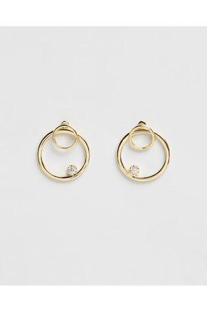 Jackie Mack Front Facing Hoop Earrings - Jewellery (18K ) Front-Facing Hoop Earrings