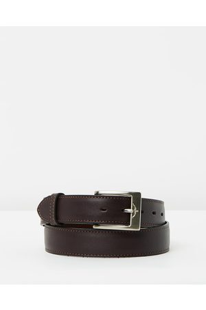 "R.M.Williams 1 1 4"" Men's Dress Belt - Belts (Chestnut) 1 1-4"" Men's Dress Belt"