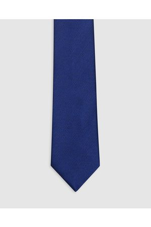 Buckle Wedding Tie & Pocket Square Set - Ties (Royal ) Wedding Tie & Pocket Square Set