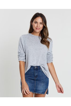 White By FTL Amy Sweater - Jumpers & Cardigans ( Marle) Amy Sweater