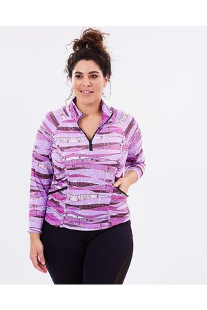 Curvy Chic Sports Stay Cool Long Sleeve Top - T-Shirts & Singlets (Blush) Stay Cool Long Sleeve Top