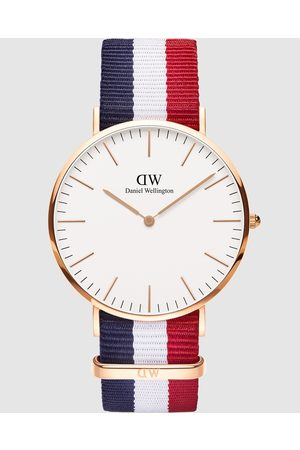 Daniel Wellington Men Watches - Classic Cambridge 40mm - Watches (Rose ) Classic Cambridge 40mm