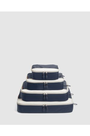 Globite Packing Cubes 4 Piece - Travel and Luggage (Navy) Packing Cubes 4 Piece
