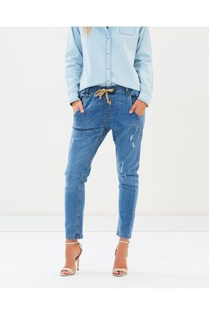 DRICOPER DENIM Active Denim Jeans - Crop (Bleached Out ) Active Denim Jeans