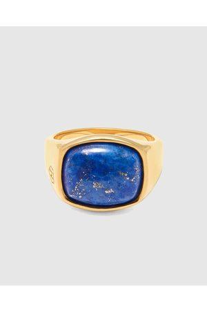 Nialaya Men Rings - Men's Signet Ring - Jewellery Men's Signet Ring