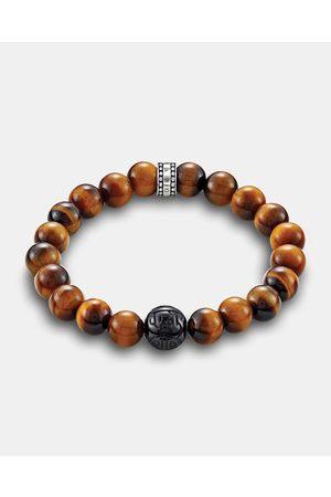 Thomas Sabo Tigers Eye Bead Bracelet - Jewellery Tigers Eye Bead Bracelet