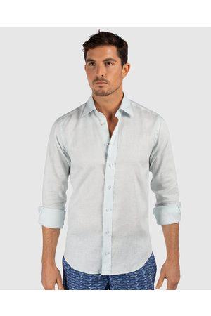 Tolu Australia Pale Linen Shirt - Casual shirts Pale Linen Shirt