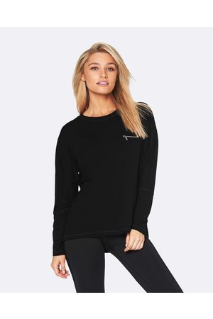 Pilot Athletic Bonney Long Sleeve Batwing Tee - T-Shirts & Singlets Bonney Long Sleeve Batwing Tee