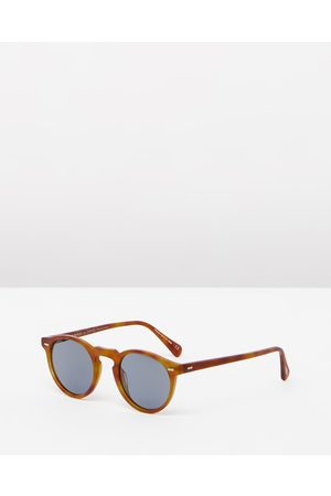 Oliver Peoples Gregory Peck Sun - Sunglasses (Havana & Photochromic Indigo) Gregory Peck Sun