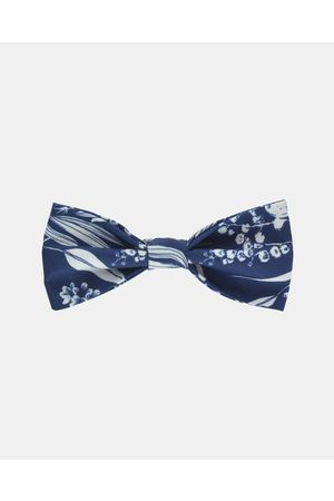 Peggy and Finn Natives Bow Tie - Ties & Cufflinks (Navy) Natives Bow Tie