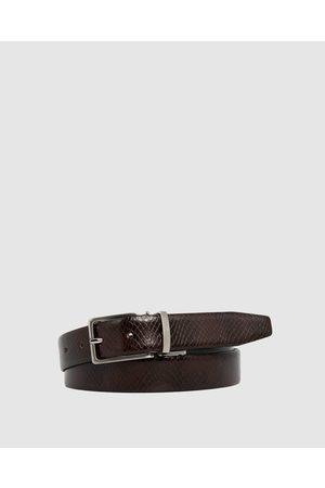 Loop Leather Co Benson - Belts (Choc Snake/ ) Benson