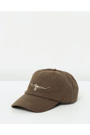 R.M.Williams Steers Head Logo Cap - Headwear (Slit) Steers Head Logo Cap