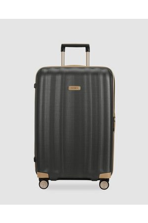Samsonite Lite Cube Prime 76cm Spinner Suitcase - Travel and Luggage (Matte Graphite) Lite-Cube Prime 76cm Spinner Suitcase
