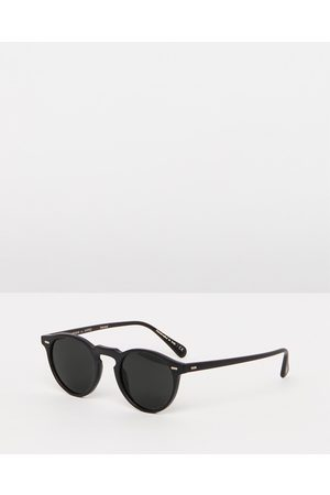 Oliver Peoples Gregory Peck Sun Polarised - Sunglasses ( & Crystal Midnight) Gregory Peck Sun Polarised