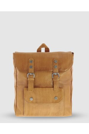 Cobb & Co Wentworth Jr. Soft Leather Backpack - Bags (Tan) Wentworth Jr. Soft Leather Backpack