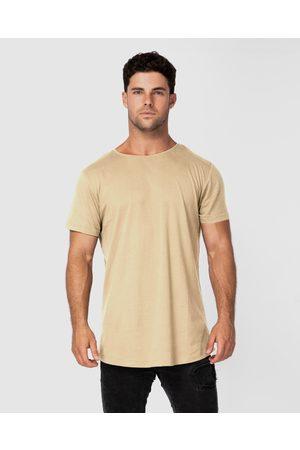 ONEBYONE Classic Blank Tee - T-Shirts & Singlets (Sand) Classic Blank Tee