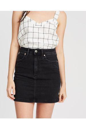 DRICOPER DENIM Leah High Waisted Skirt - Denim skirts ( Sheep) Leah High-Waisted Skirt