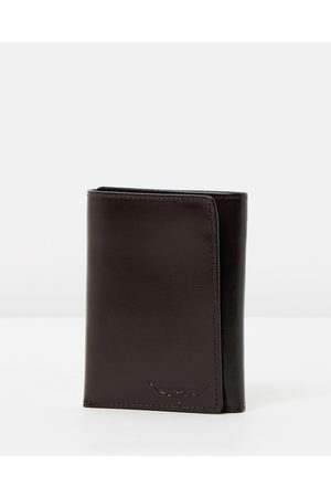 R.M.Williams Small Tri Fold Wallet - Wallets (Chestnut) Small Tri-Fold Wallet