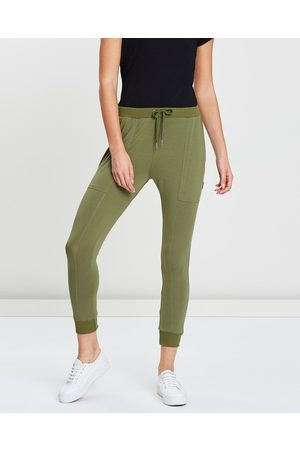 Pilot Athletic Women Capris - Lilly Lounge Capri Pants - Sweatpants Lilly Lounge Capri Pants
