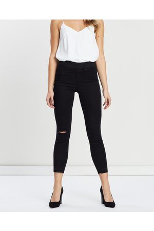 Spanx Distressd Skinny Jeans - High-Waisted (Vintage ) Distressd Skinny Jeans