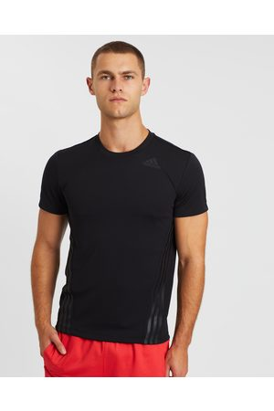 adidas AEROREADY 3 Stripes Tee - Short Sleeve T-Shirts AEROREADY 3-Stripes Tee