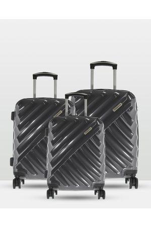 Cobb & Co Bendigo Polycarbonate Luggage 3 Piece Set - Bags Bendigo Polycarbonate Luggage 3 Piece Set