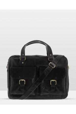 Cobb & Co Soho Leather Laptop Briefcase - Satchels Soho Leather Laptop Briefcase
