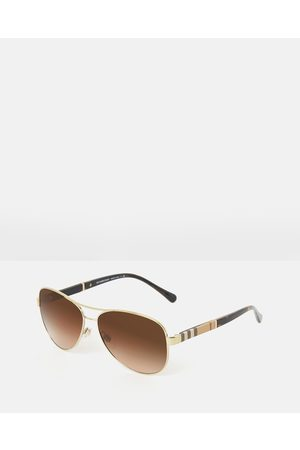 Burberry Heritage Canvas Check - Sunglasses ( & Gradient) Heritage - Canvas Check