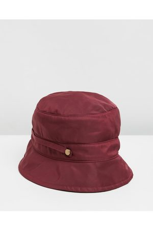 Max Alexander Women Hats - Weatherproof Bucket Golf Hat - Hats (Burgundy) Weatherproof Bucket Golf Hat
