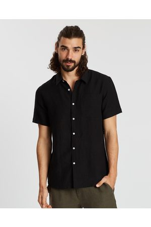 AERE SS Linen Shirt - Casual shirts SS Linen Shirt