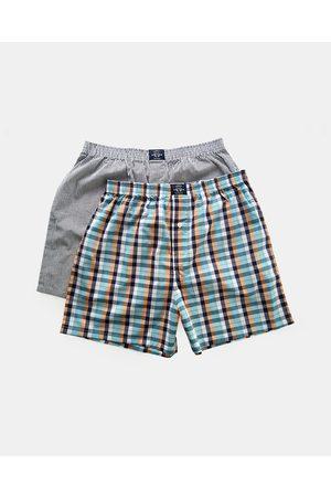 Coast Multi Coloured Boxer Shorts 2 Pack - Underwear & Socks (Multi-Colour) Multi-Coloured Boxer Shorts 2-Pack