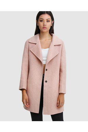 Belle & Bloom Ex Boyfriend Wool Blend Oversized Coat - Coats & Jackets Ex-Boyfriend Wool Blend Oversized Coat