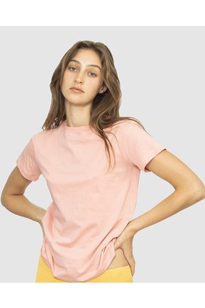 NICO Plant Dyed Organic Cotton Tee - T-Shirts & Singlets (Rose) Plant Dyed Organic Cotton Tee