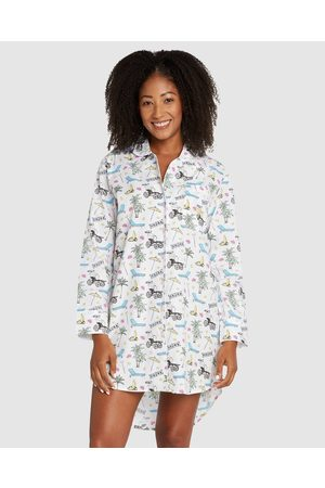 Sant And Abel Palm Springs Night Shirt - Sleepwear (Multi) Palm Springs Night Shirt