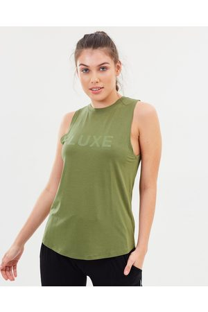 Pilot Athletic Harkness Luxe Muscle Tee - T-Shirts & Singlets (Army ) Harkness Luxe Muscle Tee