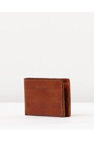 Stitch & Hide Connor Wallet - Wallets (Tan) Connor Wallet