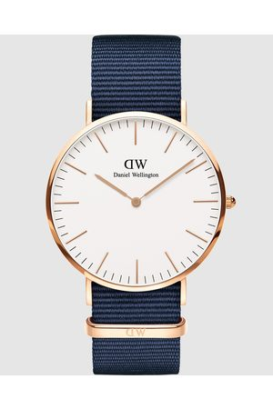Daniel Wellington Classic Bayswater 40mm - Watches (Rose ) Classic Bayswater 40mm