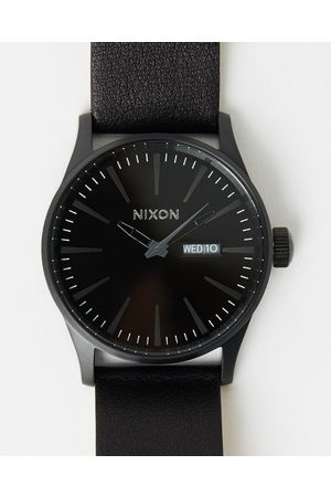 Nixon The Sentry Leather - Watches (All ) The Sentry Leather