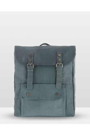 Cobb & Co Wentworth Soft Leather Backpack - Bags (Steel) Wentworth Soft Leather Backpack