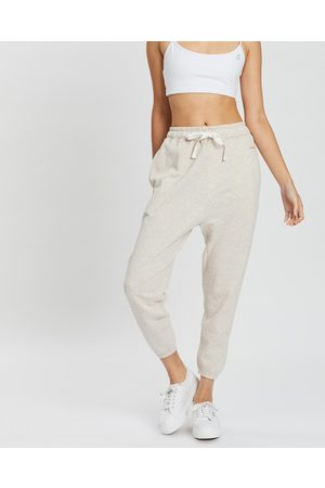 Assembly Label THE ICONIC EXCLUSIVE Logo Lounge Pants - Sweatpants (Oatmeal) THE ICONIC EXCLUSIVE - Logo Lounge Pants