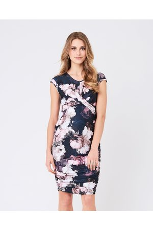 Ripe Maternity Dahlia Cross Your Heart Dress - Bodycon Dresses (Multi) Dahlia Cross Your Heart Dress