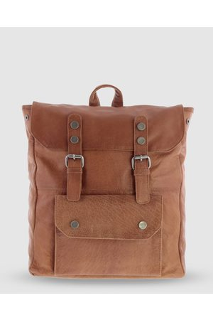 Cobb & Co Wentworth Jr. Soft Leather Backpack - Bags (Cognac) Wentworth Jr. Soft Leather Backpack