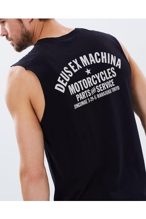 Deus Ex Machina THE ICONIC Exclusive Tokyo Address Muscle - T-Shirts & Singlets THE ICONIC Exclusive - Tokyo Address Muscle