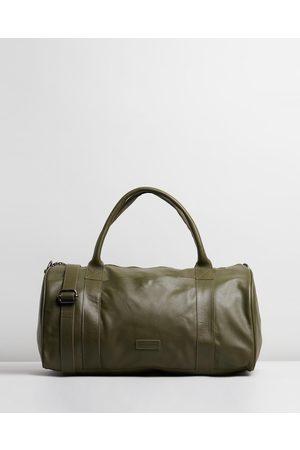 Stitch & Hide Globe Weekender - Travel and Luggage (Olive) Globe Weekender