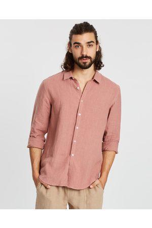 AERE LS Linen Shirt - Casual shirts LS Linen Shirt