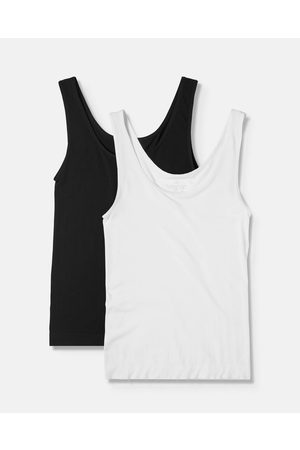 Boody Organic Bamboo Eco Wear 2 Pack Tank Top - T-Shirts & Singlets (Mixed Colours) 2 Pack Tank Top